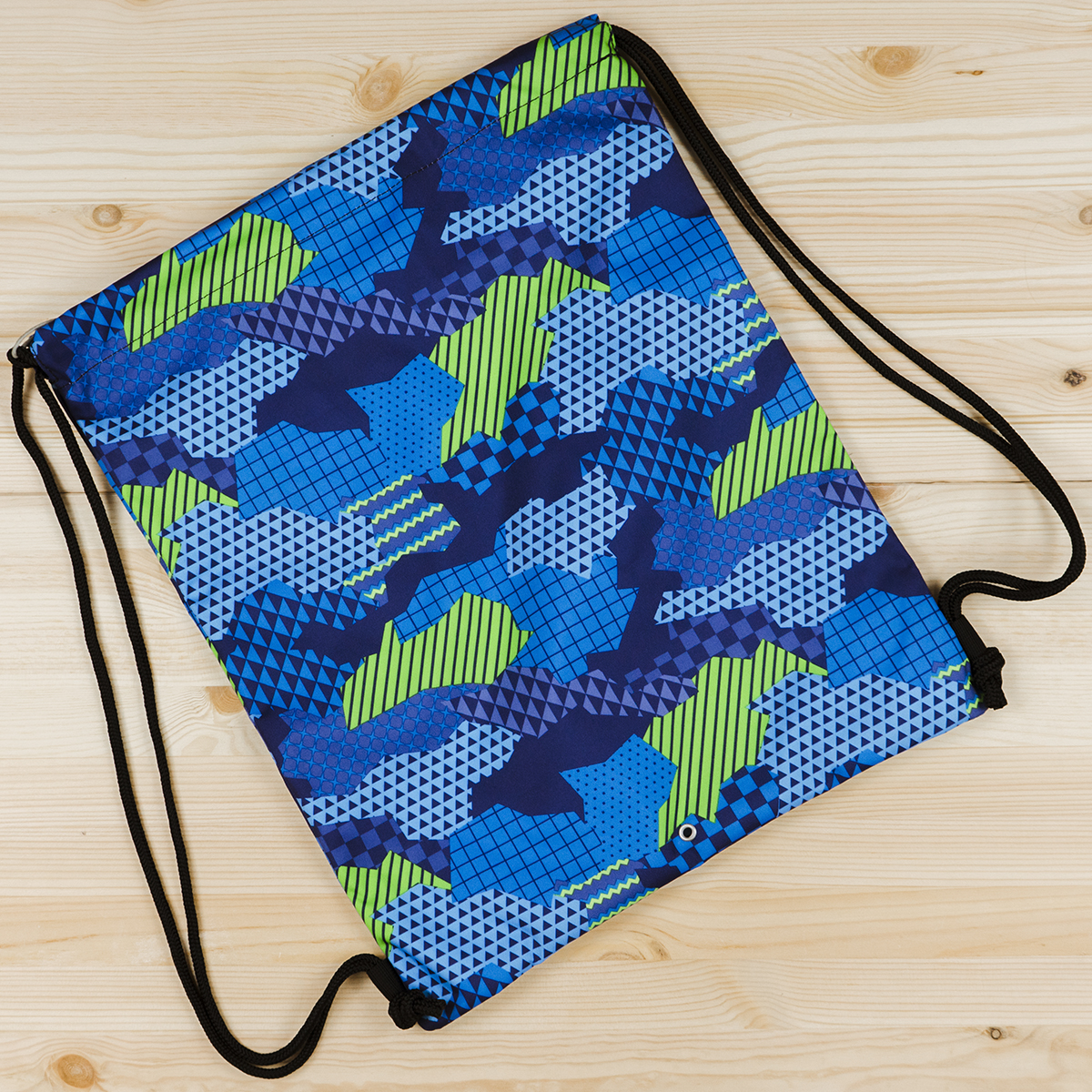 SOFT B.PACK CAMOUFLAGE BLUE
