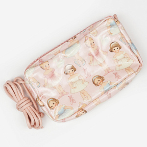 Mini string bag-Ballet pattern