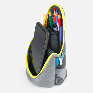 FD-1593-GL,Brave Pen Case Gray