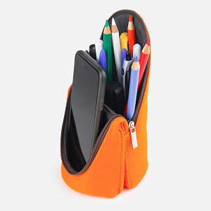 FD-7041-OR,Pen Case Orange