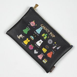 Ghostpop Daily pouch M Black 1017
