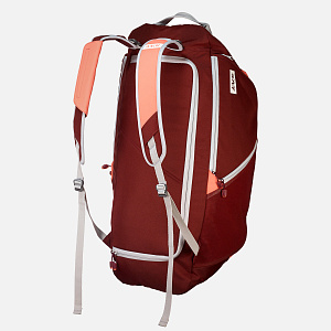 Duffle Bag Red Dusk