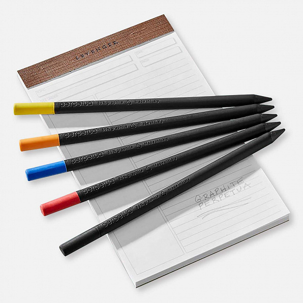 GRAPHITE PENCIL GLITTER ORANGE