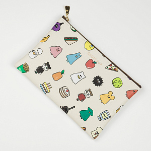 Ghostpop Daily pouch M2 Ivory 1017