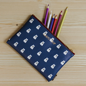Ghostpop Daily pouch M Navy 1017