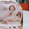 Paper doll mate backpack-pink
