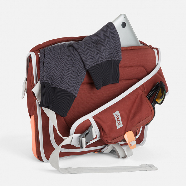 Messenger Bag Red Dusk
