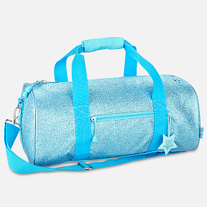 Sparkalicious Glitter Duffle Turquoise